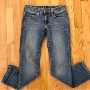 Gap Denim straight Jeans.  Girls size 8